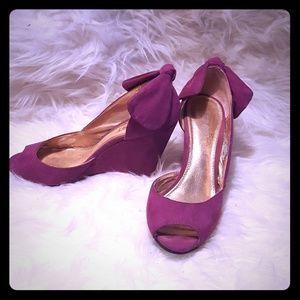 Amazing violet purple platforms